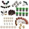 337Pcs Set Rotary Tool Accessory Kits Fits Dremel Grinding Sanding Polishing
