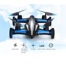JJRC H23 RC Drone 2.4G RC Quadcopter Car Land Sky 2 in 1 UFO RTF Simulators 3D Flip One-key Return Headless Mode Beginner Level