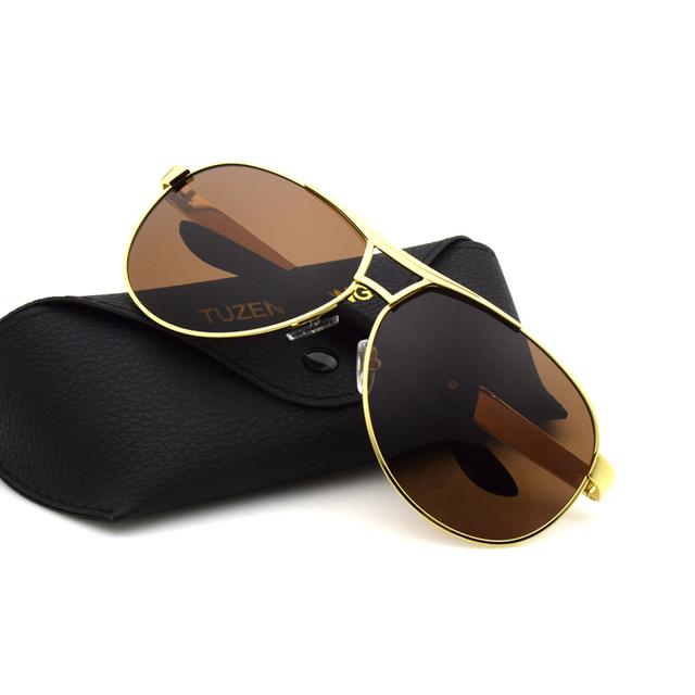 Men's brand designer polarized sunglasses coating Sun Glasses oculos Gafas Male Driving lens