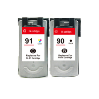 2PCS PG90 Ink Cartridge For Canon PG 90 CL 91 For Canon Mp160 Mp180 MX310 Mp450