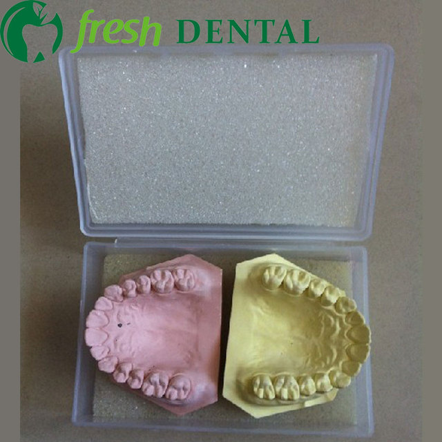 US $48 44 15% OFF|20PCS Dental Transportation Box delivery boxes plaster  dental mold storage box technical plant with sponge optional SL812-in Teeth