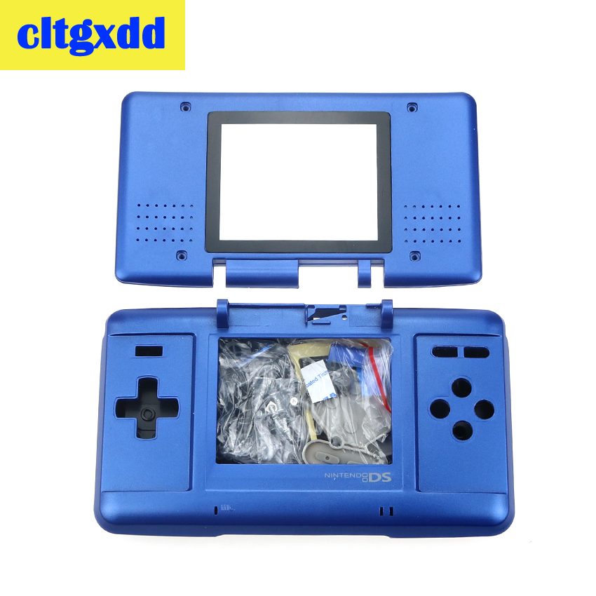 Cltgxdd Full Replacement Housing Case Cover Shell Kit For Nintendo DS For N DS Console Game Machine Shell Accessories