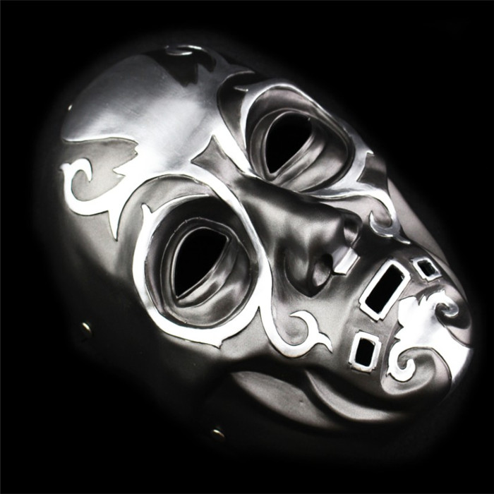 100% Resin Death Eater Resin Mask Film Harry Potter Mask for Chidren Full Face Newcome Party & Festive Scary Masks Free Shipping