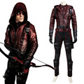 Green Arrow Cosplay Green Arrow Season 3 Roy Cosplay Costume Red Arrow Cosplay Adult Halloween Carnival Costume Cosplay