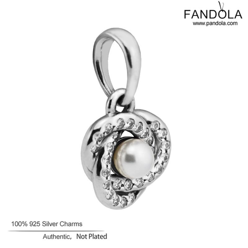 Großhandel 925 Sterling Silber Weiß Kristall Pearl & Clear CZ - Edlen Schmuck - Foto 4