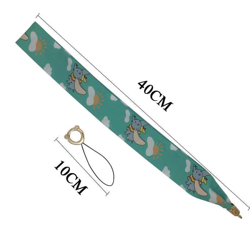 Cartoon Unicorn szalik smycz na telefon wysokiej jakości tkanina naszyjnik smycz klucz ID card gym z USB klips na identyfikator smycz