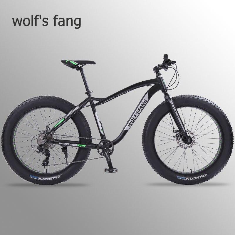 Lobo fang nova bicicleta de montanha 26 polegada gordura bicicleta 8 velocidades pneu gordura neve bicicletas homem bmx mtb bicicletas estrada frete grátis