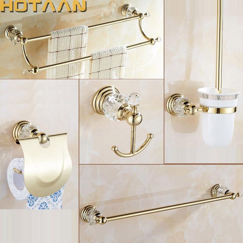 popular gold bathroom accessories-buy cheap gold bathroom
