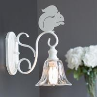 Nordic cute squirrel wall lamp creative modern personality children's Sconce Wall Lights staircase aisle wrought iron led lamps