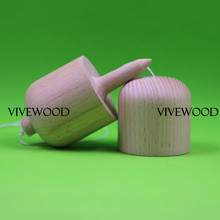 Unpainted Kendama Pill 2 70 USD wholesale Juggling Kendama Pill Plain Beech Wood Kendama Pill Juggling