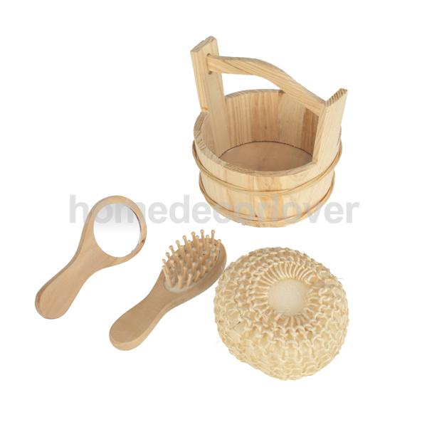 Bathroom Bathing Body Cleaning Tool Kit Set Wood Bucket   Sponge   Comb    Mirror. Popular Bathroom Cleaning Set Buy Cheap Bathroom Cleaning Set lots