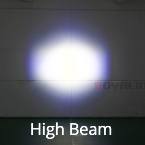 Image 5 - ROYALIN سيارة LED المصابيح الضوئية شعاع عالية عدسة مع عيون الشيطان مصابيح دراجة نارية ل H1 H4 H7 9005 مصابيح التحديثية DIY بها بنفسك