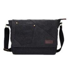 Wholesale 5*AUAU Vintage Men Canvas Messenger Shoulder Bag Satchel Large Tote 13″