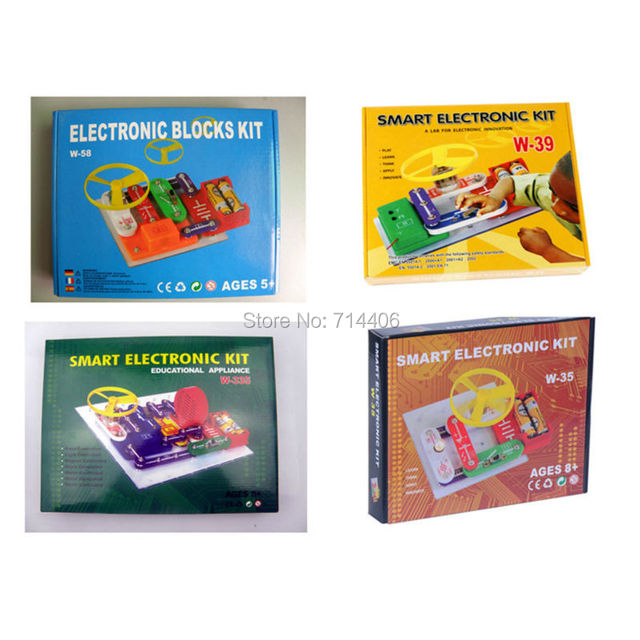 smart electronic kit w 35 w 58w 39 w 335 projects snap circuits