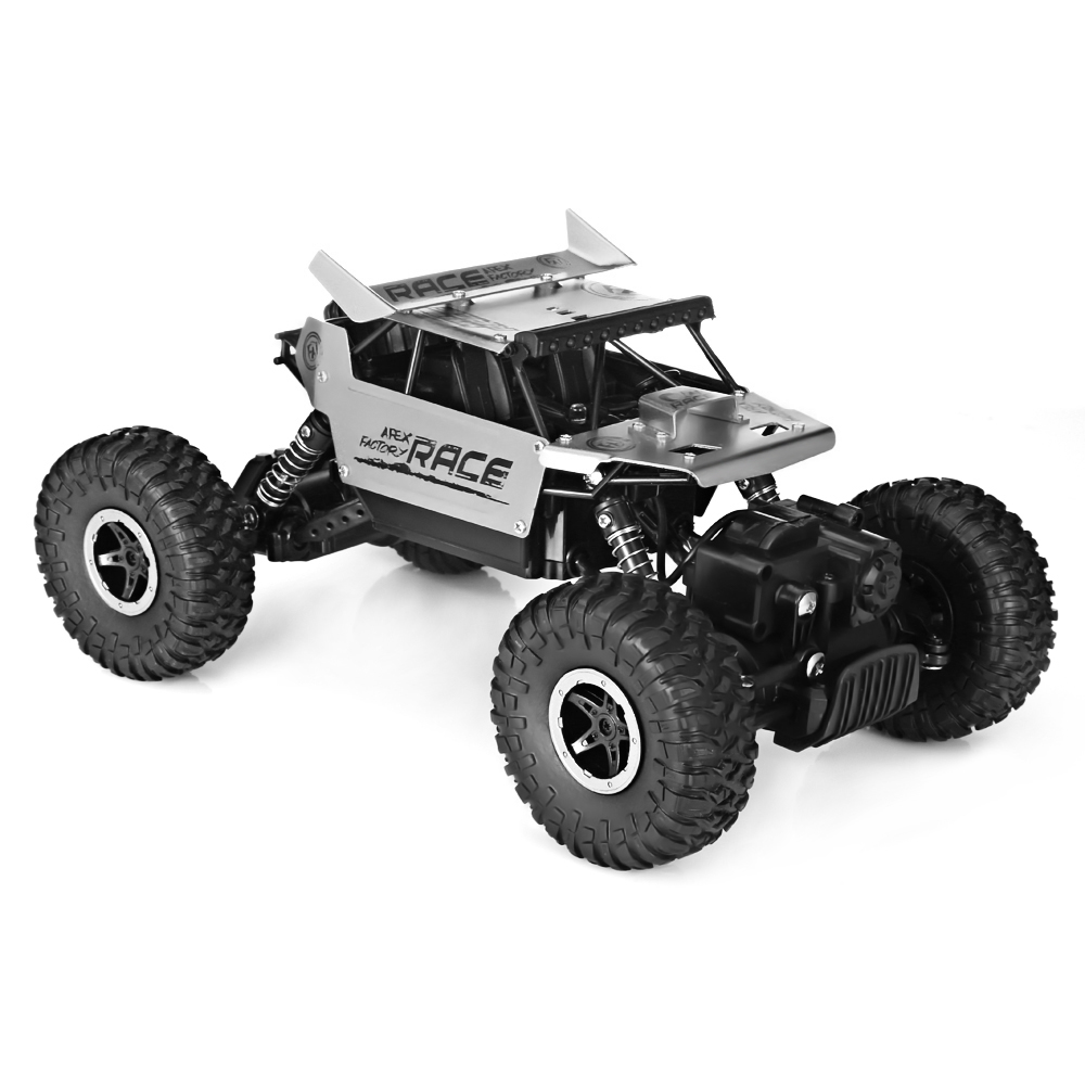 1:18 Full-Scale Simulation Alloy RC Off-Road Cars 2.4G Transmitter 4WD High Speed Climbing Rock Car Racing Vehicle Car mst 532141 cmx 1 10 4wd fj40 kit off road car climbing simulation model car