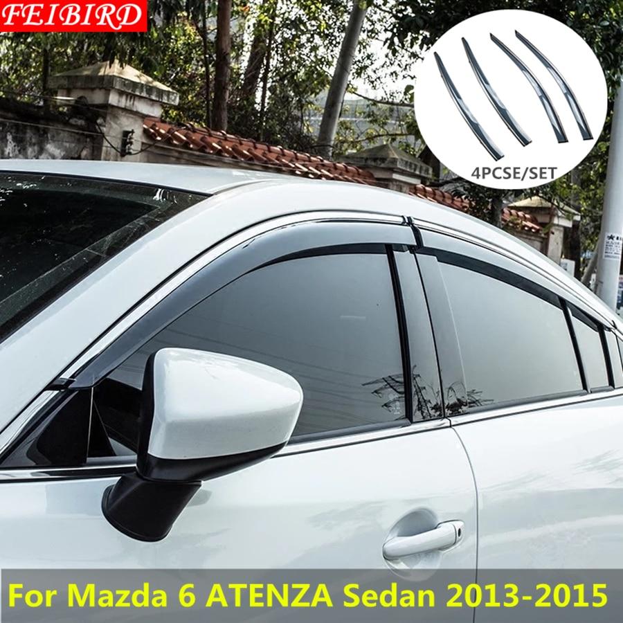 04-09 3 Auto Ventshade 94909 Ventvisor; Deflector 4 pc
