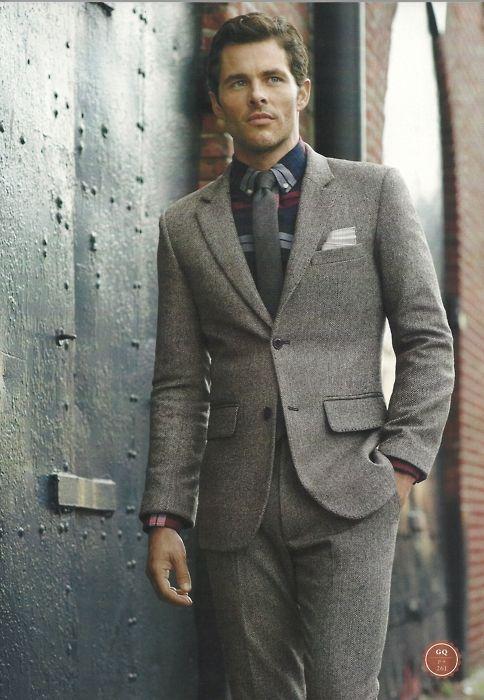 2016 осень зима итальянский Стиль серый Твид человек костюм 2 шт. Slim Fit Свадебные костюмы для выпускного для Для мужчин Жених Смокинги для жени