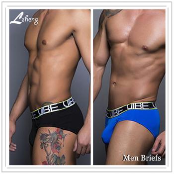 Najnowsze Hot sprzedaż moda marka męskie majtki bielizna męska mężczyźni ultra-cienki majtki męskie majtki człowiek bielizna-majtki tanie i dobre opinie Figi TAUSTIEM spandex Poliester mieszanki Stałe briefs-012