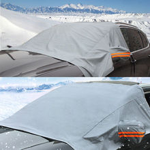 Vehemo снег Крышка лобовое стекло солнцезащитные шторы для машины Солнцезащитный козырек автомобиля солнцезащитный чехол для снега зима авто солнцезащитный козырек портативный