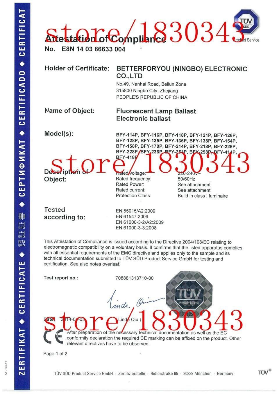 t8 ballast elektronik TJB-E218P ballast elektronik untuk lampu - Penjagaan kesihatan - Foto 4