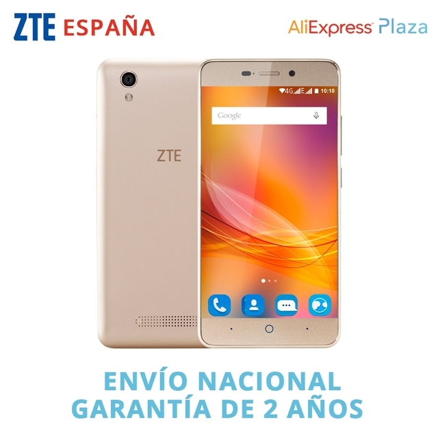 ZTE Blade A452 Mobile Phone 5 Inch HD MTK6735P Quad Core Android 5.1 1GB RAM 8GB ROM 13MP 4000mAh Battery Wifi GPS 4G Smartphone