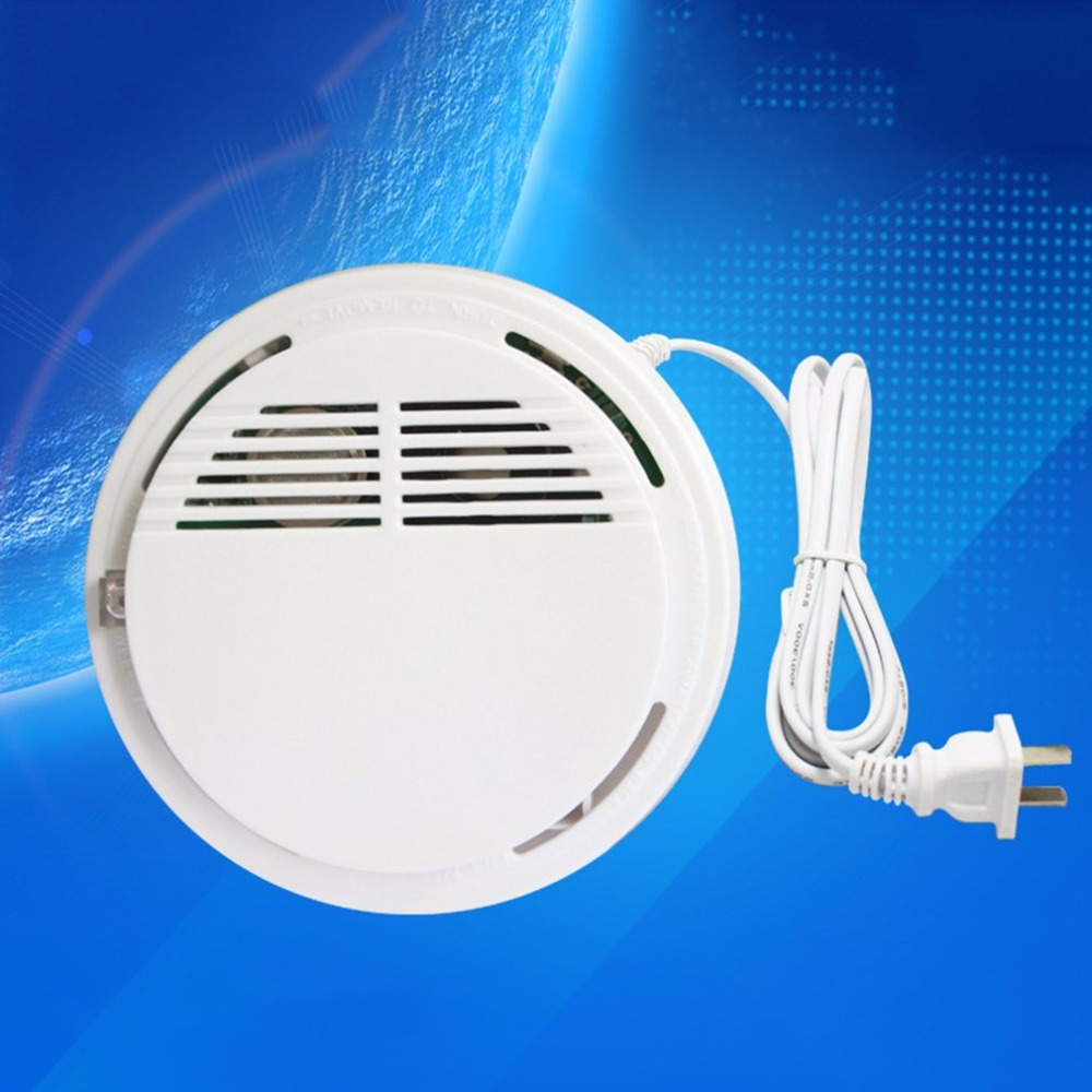 Ceiling Mounted Alarm Combustible Gas Detector Network Sound-light Alarm Smoke Detector Security Alarm System Fire Protection golden security lpg detector wireless digital led display combustible gas detector for home alarm system