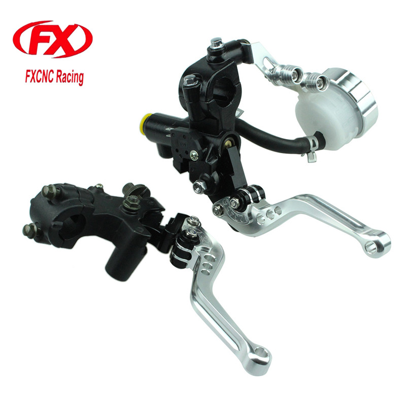 FX 125-600cc Motorcycle Brake Clutch Levers Master Cylinder Hydraulic Brake Cable Clutch For Honda PCX 150 Motorcycle Accessorie fxcnc universal stunt clutch easy pull cable system motorcycles motocross for yamaha yz250 125 yz80 yz450fx wr250f wr426f wr450