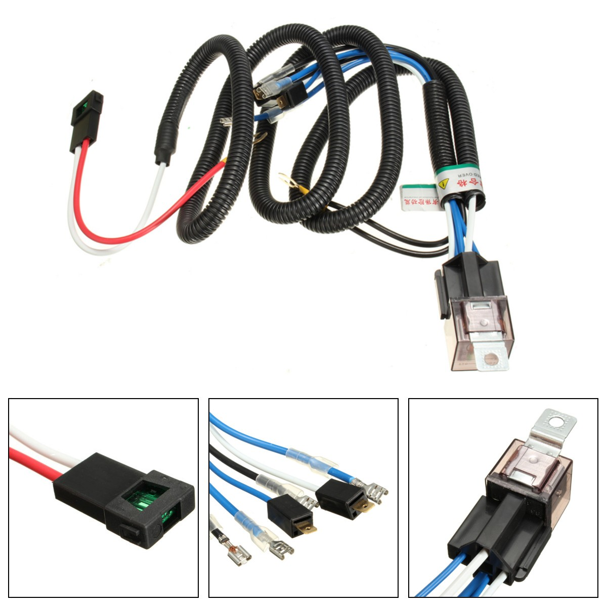 horn wiring harness reviews online shopping horn wiring harness 12v truck car horn relay wiring harness kit for grille mount blast tone horns