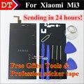 Alta qualidade peças de reposição para xiaomi 3 mi3 m3 display lcd e digitador da tela de toque do telemóvel de substituição conjunto do visor