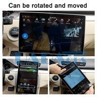 2 Din 12.8 Tesla Android 8.1 4+32GB universal car radio No DVD For HONDA Accord City Civic Fit HR V Insight Jazz Pilot GPS Nav