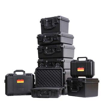 Wasserdichte Kunststoffkoffer | Werkzeug Koffer Kunststoff Wasserdicht Versiegelt Sicherheit Schutz Ausrüstung Fall Tragbare Werkzeug Box Trockenen Box Outdoor Ausrüstung