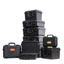tool case Suitcase Plastic Sealed Waterproof Safety Protection Equipment Case Portable Tool Box Dry Box Outdoor Equipment(China)
