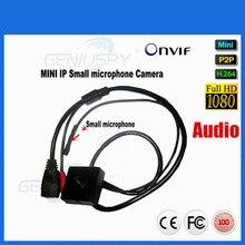 2017 Hot Selling Mini Audio Video Camera 1920*1080P Ip Camera 1080P Onvif 2 Megapixel Pinhole IP Camera 2MP P2P With Microphone