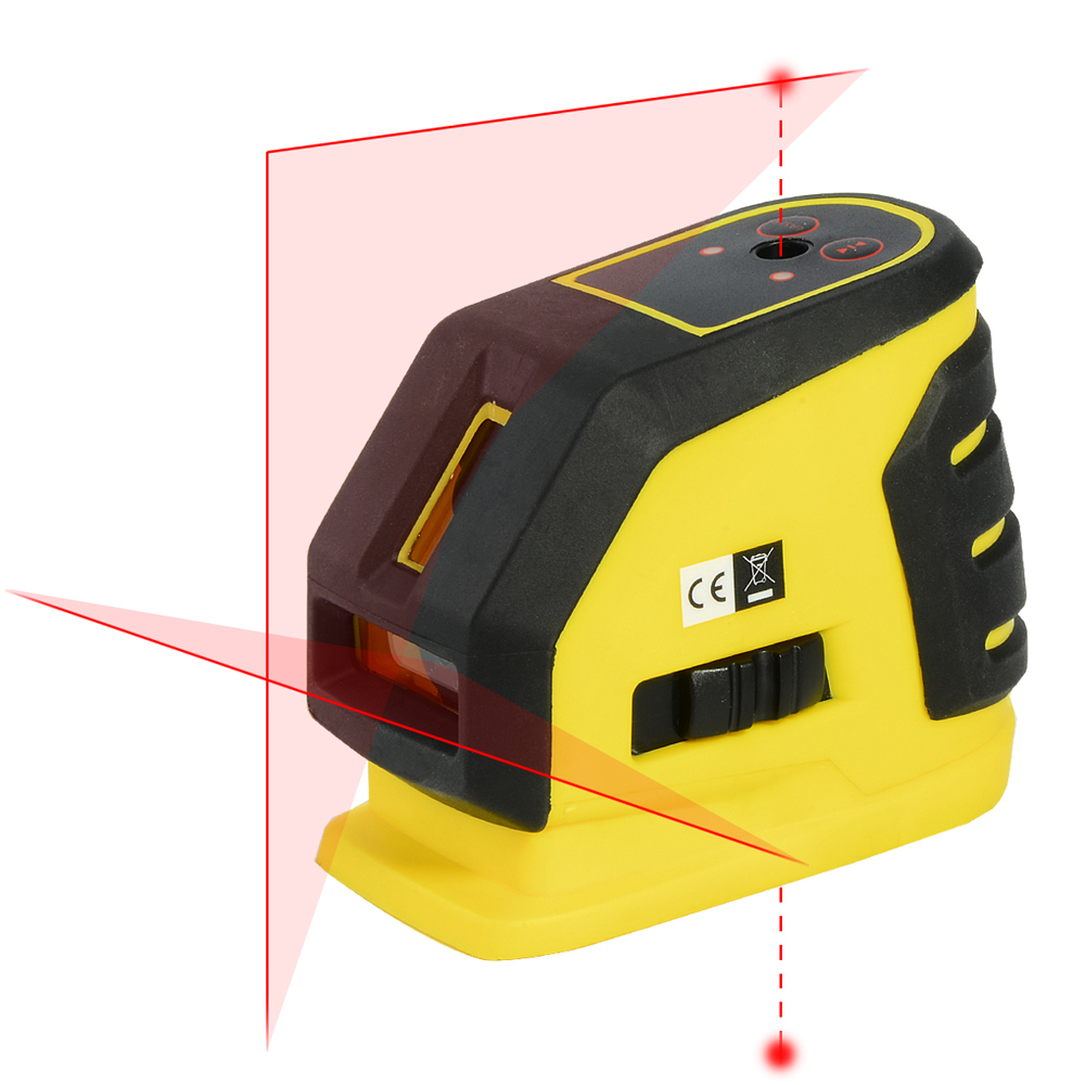 Firecore 118L 2 Lines 2Points Laser Level Horizontal And Vertical Cross Red Laser Line With Magnetic Bracket high quality southern laser cast line instrument marking device 4lines ml313 the laser level