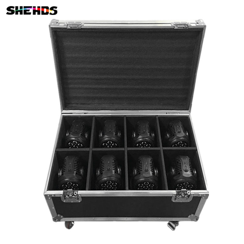 Flight Case with 6/8 pieces LED Beam+Wash Double Sides  4 x10W + 1 x10W Lighting for Disco KTV Party Fast Shipping,SHEHDS wireless 315 433mhz 12v 4ch remote control switch receiver shell for door lock can control 4 doors up to 50m for door lock sl34