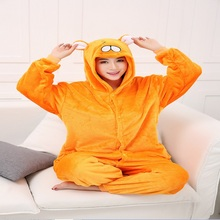 Kigurumi Flannel Onesie Unisex Adult Animal Hamster Pajamas Cosplay Costume Pyjamas Sleepwear
