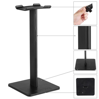 New Headphone Stand Headset Holder Earphone Hanger Headphone Holder Display for Headphones bracket 2 Colors for Choice