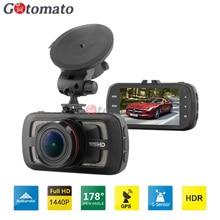 Gotomato DAB205 Car DVR Ambarella A12 Chip Car Camera Video Recorder 178 Degree 2560*1440P Cam GPS Logger G-Sensor HDR H.264