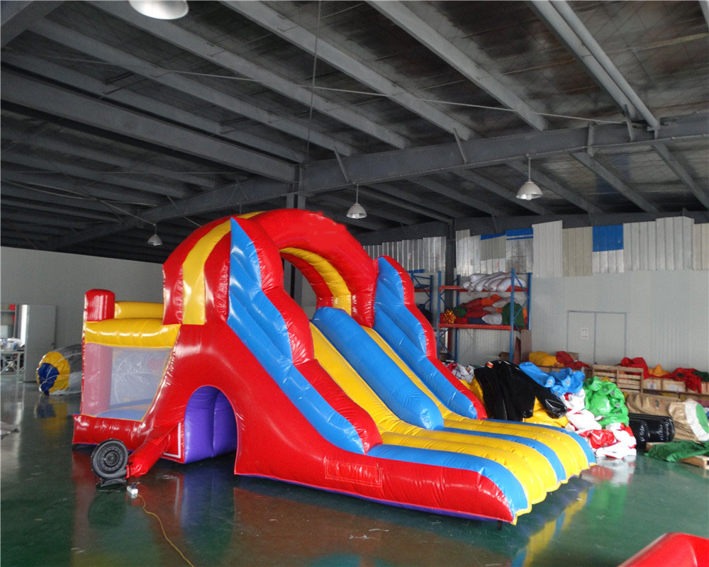 Inflatable Sports Game PVC Inflatable Slide Outdoor  Free Air Blower