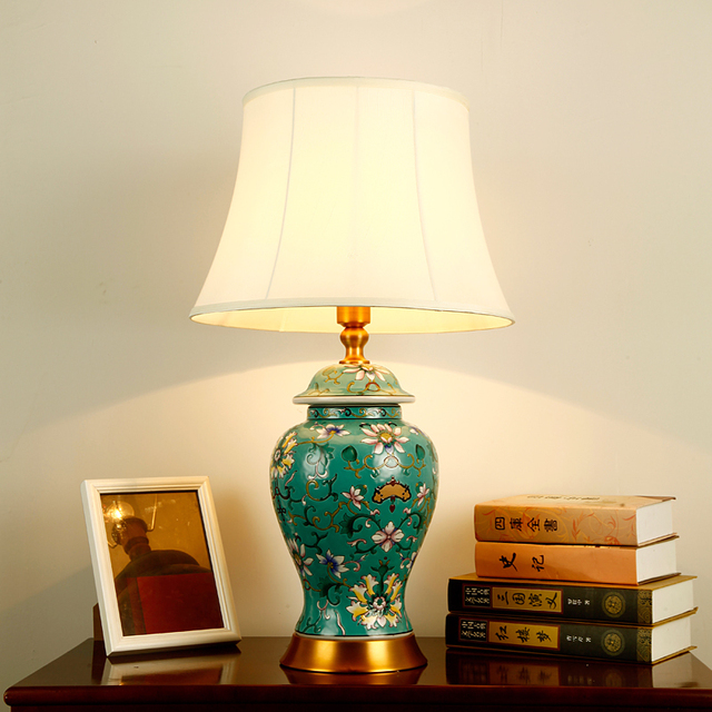Schlafzimmer vintage tisch lampe china Studie wohnzimmer Tischlampe ...