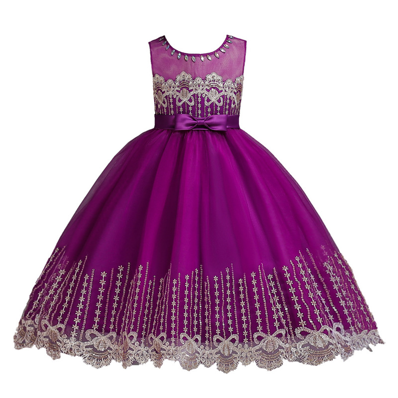 5219a0aaaec93 Best Chance 2019 Autumn and Winter New Children's Princess Dress ...