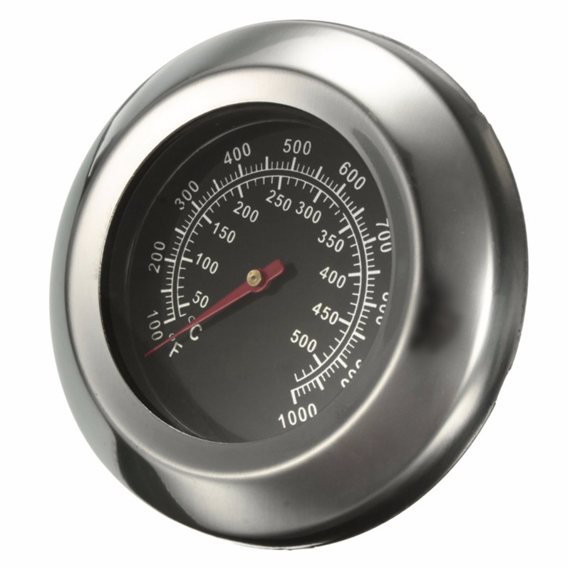 High Quality 50~500 Degree Roast Barbecue BBQ Smoker Grill Thermometer Temp Gauge New Arrival earth star high quality 50 500 degree roast barbecue bbq smoker grill thermometer temp gauge new arrival 2