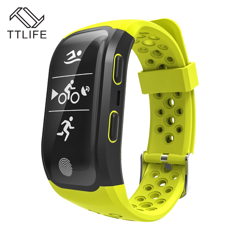 TTLIFE S908 Smart Watch Fitness Tracker Pulsometer Waterproof Heart Rate Bracelet Gps Bluetooth Watch For phones and Xiaomi fs08 gps smart watch mtk2503 ip68 waterproof bluetooth 4 0 heart rate fitness tracker multi mode sports monitoring smartwatch