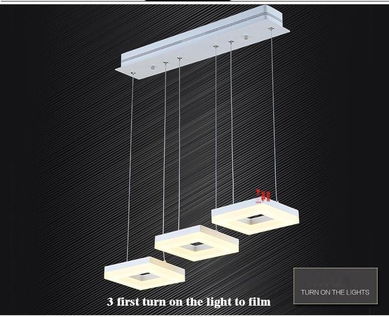 Yanghang new arrival led pendant lights for dining room bar home