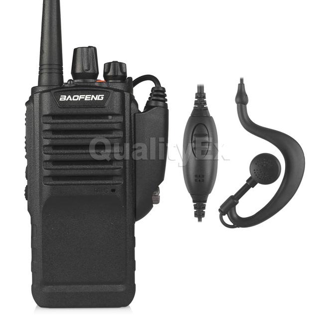 Bf-9700 baofeng uhf 400-520 mhz 5 w ip67 à prova d' água portátil fm ham two-way radio walkie talkie scanner de comunicador