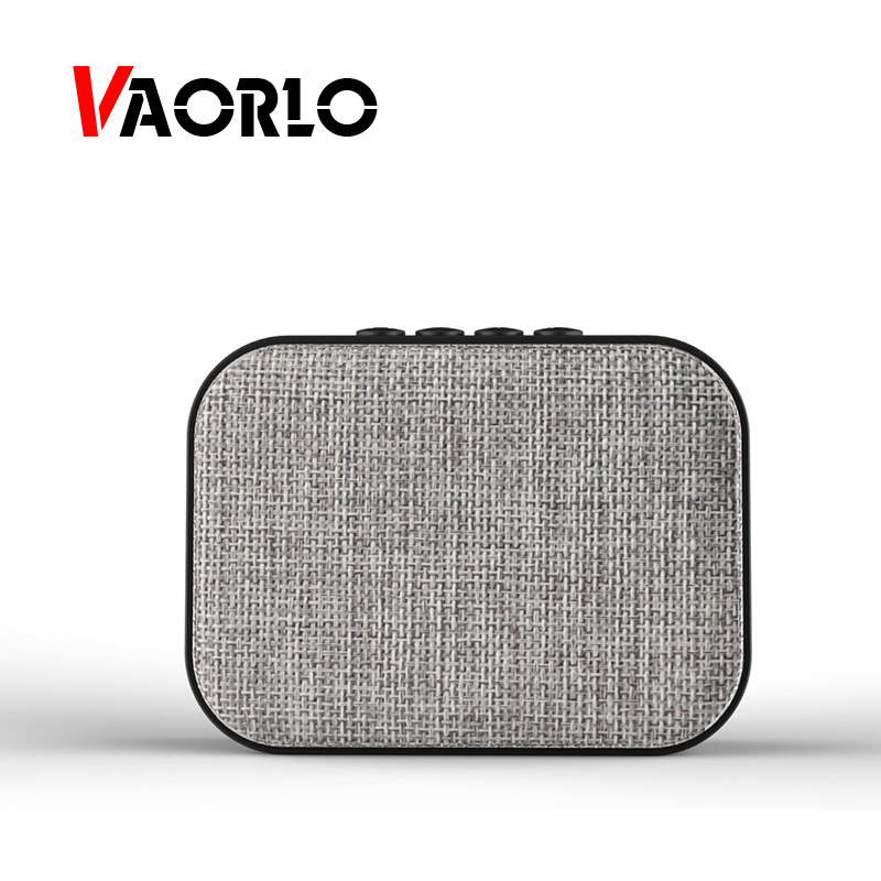 VAORLO Fabric Net Wireless Bluetooth Speaker U Disk TF Card FM Radio Outdoor Portable Mini Lovely Speaker Audio Loudspeakers