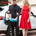 Pouch детские корзина типа сиденье безопасности Лежа, сидя сиденье новорожденный детские сиденья безопасности автомобиля Немецкий корзина корзина