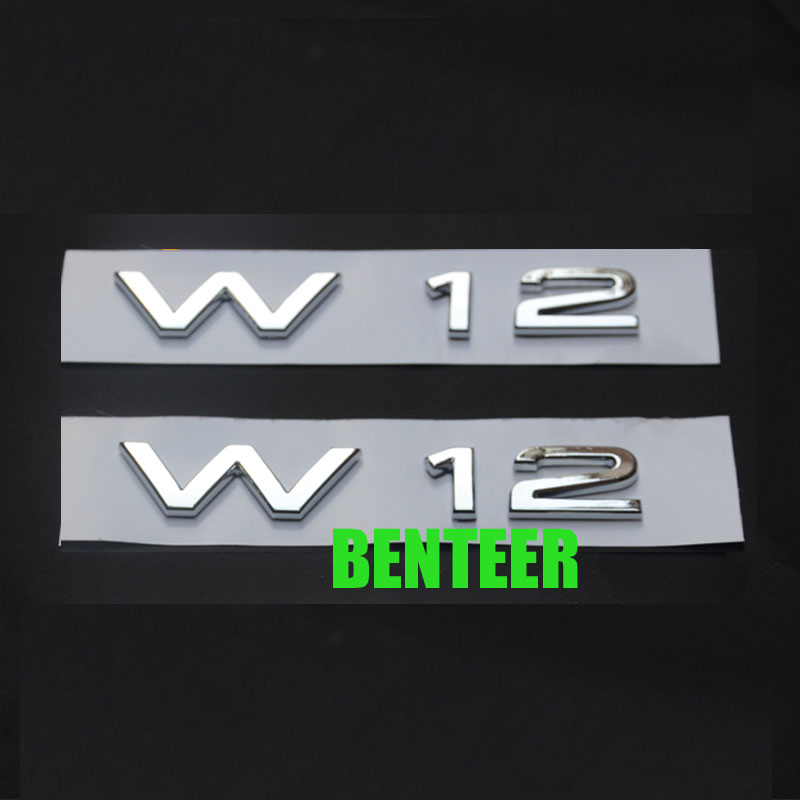 2pcs W12 Car Fender Sticker Car Side Sticker For Audi A8