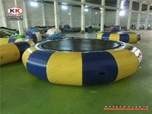 Hot Summer Small Size Inflatable Trampoline for Water Sport