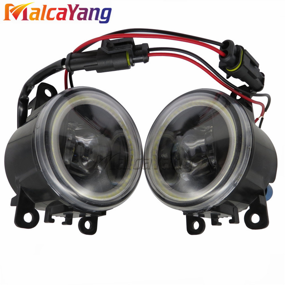 цена на NEW Angel Eyes 1set CCC For OPEL ASTRA H GTC 2005-2015 6710027 Car styling front bumper LED fog Lights high brightness fog lamps